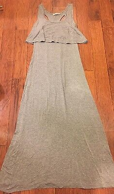9dd650bbea30 WOMENS ROLLA COSTER Gray Maxi Dress Size M -  10.00