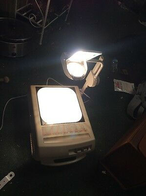 apollo concept 2210 Portable Overhead Projector Working
