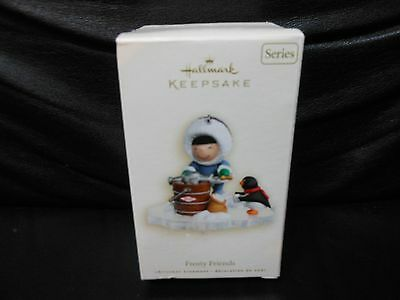 "Hallmark Keepsake ""Frosty Friends"" 2007 Ornament NEW 28th in Series"