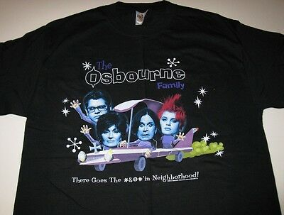 OSBOURNE FAMILY in car There Goes... T - Shirt Large