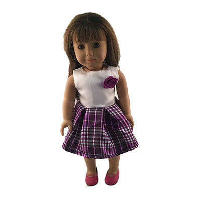 2016 fashion clothes dress for 18inch American girl doll party b169 b342