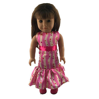 2016 fashion clothes dress for 18inch American girl doll party b169 b344