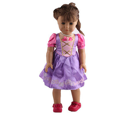 2016 fashion clothes dress for 18inch American girl doll party b418