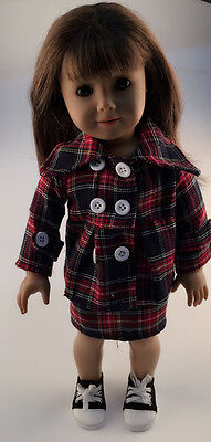 2016 fashion clothes dress for 18inch American girl doll party b408