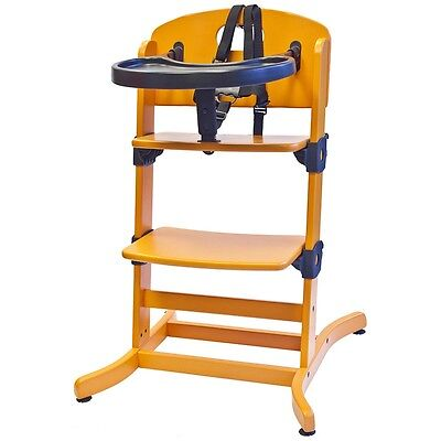 guzzie+ Guss Banquet Highchair - Orange