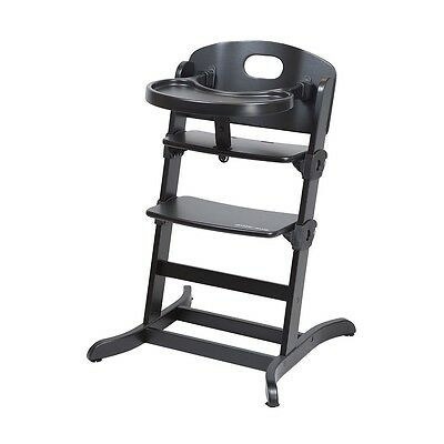 guzzie+ Guss Banquet Highchair - Black