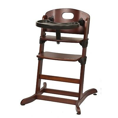 guzzie+ Guss Banquet Highchair - Chocolate