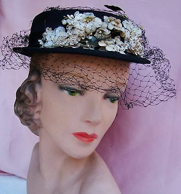 Gorgeous Vintage  Ladies Hat  from the 1930's - 40's