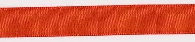 13mm Orange Single Sided Satin Ribbon (x 6 metres)