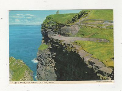 Cliffs Of Moher Lahinch Co Clare Ireland 1982 Postcard 876a