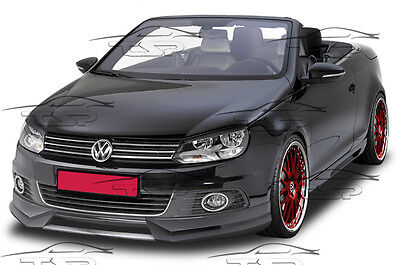 FRONT LIP SPOILER FRONT BUMPER SPLITTER FOR VW EOS from 2011 FA155