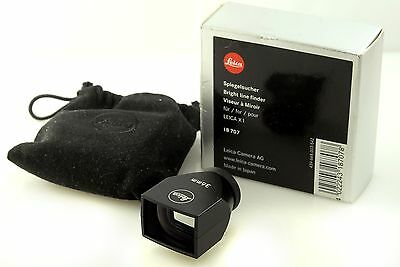 Leica 36mm Viewfinder for Leica X1 Brightline finder 18707. Boxed