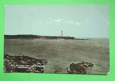 Bay of Nigg and Lighthouse, Aberdeen  -  c1925