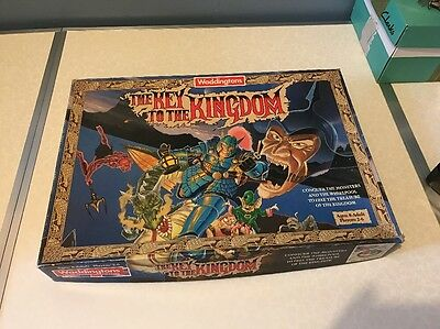 Waddingtons Vintage Board Game THE KEY TO THE KINGDOM