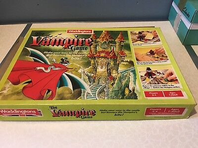 Waddingtons Vintage Board Game THE VAMPIRE GAME