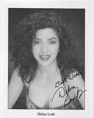 Debra Lamb Scream Queen Autographed Photo