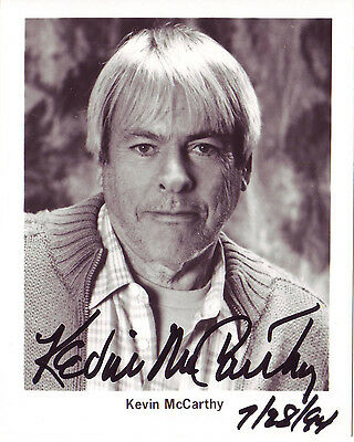 Kevin McCarthy Invasion of the Body Snatchers signed autographed photo