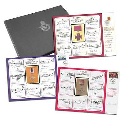 WW2 VIP signed collection of Nineteen large DM Medal Special Signed Covers.