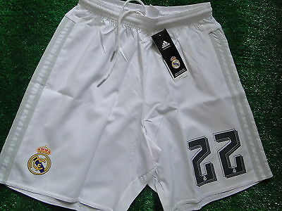 Real Madrid Home Shorts  2015-16 Size Small Bnwt
