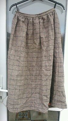 Vintage laura Ashley Welsh tweeds.pure wool.cambrian,made in Wales.Size 14.1980s