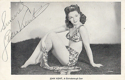 Jean Kent The Gainsborough Movie Star Antique Signed Photo
