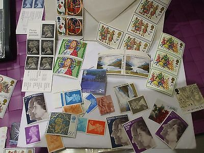 """""""look"""" Unused Stamps And First Day Covers Christmas Bletchley Park Dogs Fire"""