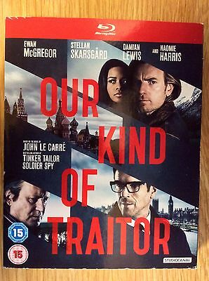 Blu-ray DVD Slipcase Only  -  NO DISCS Included - Our Kind Of Traitor - Le Carre