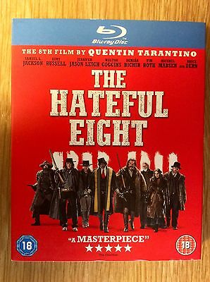 Blu-ray DVD Slipcase Only  -  NO DISCS Included - The Hateful Eight - Tarantino