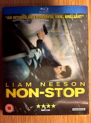 Blu-ray DVD Slipcase Only  -  NO DISCS Included - Non-Stop starring Liam Neeson