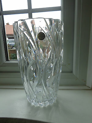 Very Large J.G. Durand Cristal D'Arques Vase with Original Label Made In France