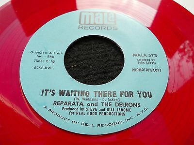 Reparata And The Delrons - It's Waiting There For You 7' Red Demo Northern Soul