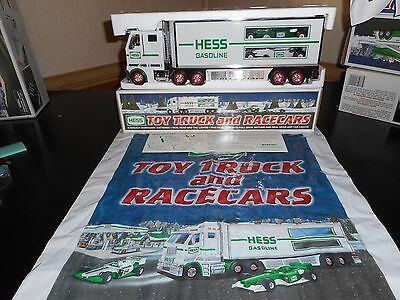 Hess Truck 2003  Truck And Race Cars In Mint Condition