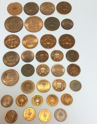 Various Proof / Brilliant Uncirculated / Uncirculated Penny / Halfpenny / 2p