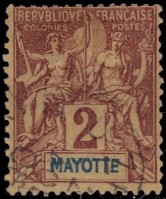 """MAYOTTE 2 - Navigation and Commerce """"Keyplate"""" (pa88856)"""