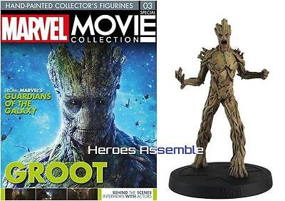 Marvel Movie Collection Special #3 Groot Figurine Guardians Of Galaxy Eaglemoss