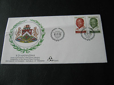 Transkei FDC - 1979 - Second State President (2575)