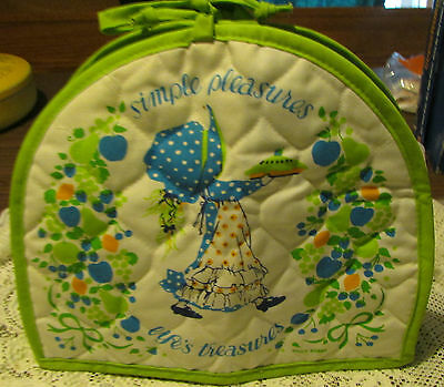 vintage holly hobbie green toaster cover life's treasures