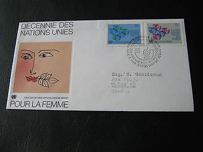 United Nations FDC - 1980 - Decade for women (2575)