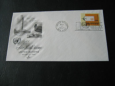 United Nations FDC - 1964 - Air Mail Stamp (2575)
