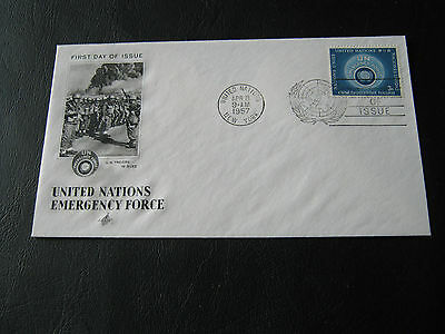 United Nations FDC - 1957 - UN Emergencey Force (2575)