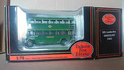 1/76 scale Model Bus: EFE 27802, STL in Greenline livery
