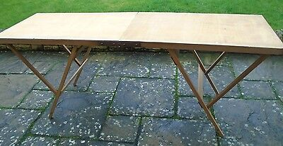 6' Folding Wallpaper Pasting Table - COLLECTION ONLY