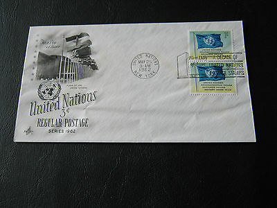 United States - United Nations FDC - 1962 - UN regular Postage (2575)