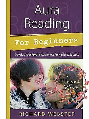 Book AURA READING FOR BEGINNERS by Webster Develop Psychic Awareness