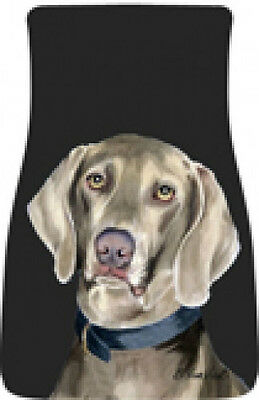 Car Floor Mats Pair - Weimaraner (BVV) 21057