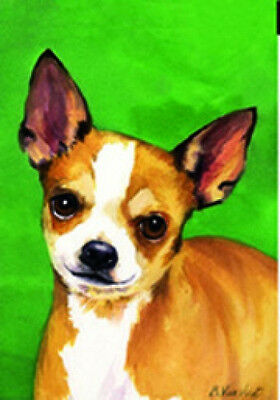 Large Indoor/Outdoor Decorative Flag - Chihuahua 20046