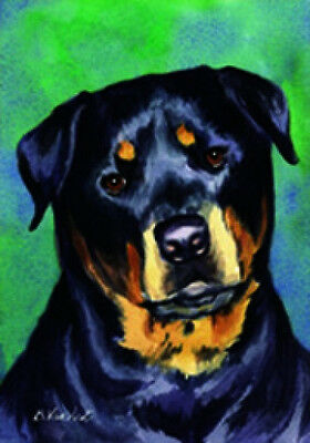 Large Indoor/Outdoor Decorative Flag - Rottweiler 20002