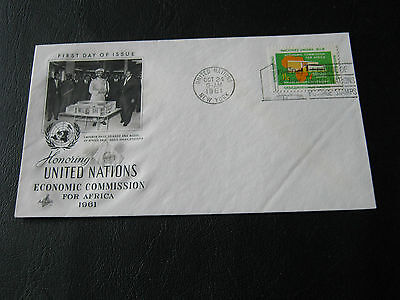 U.S. - United Nations FDC - 1961 - Economic Commission for Africa (2575)