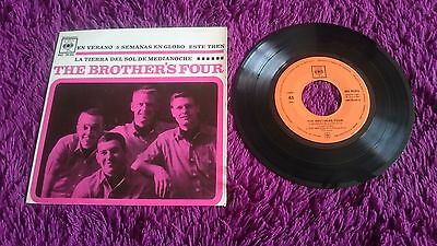 """The Brothers Four – En Verano , Vinyl, 7"""", EP , 1962 , Spain , AGS 20.016"""