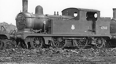 Photo Ex LNER Class F4 2-4-2T No 67162 seen at unknown location
